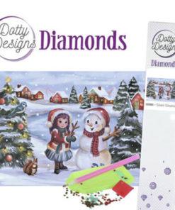 Diamant sæt / Vinterland / Dotty Design
