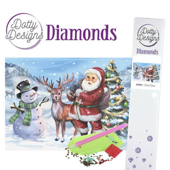 Diamant sæt / Julemand m.m / Dotty Design