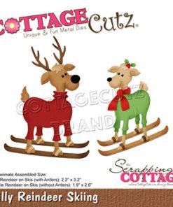 Dies / Rensdyr på ski / Cottage Cutz