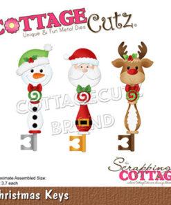 Dies / Julenøgler / Cottage Cutz