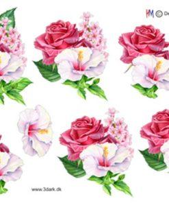 Blomster / Blomster i rosa / Hm Design