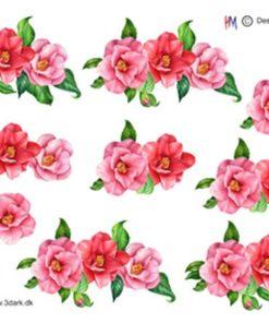 Blomster på række / Hm Design