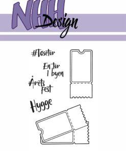 Stempel / Billetter / NHH Design