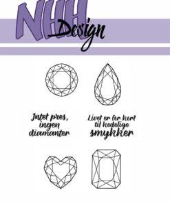 Stencil / Diamanter / NHH Design