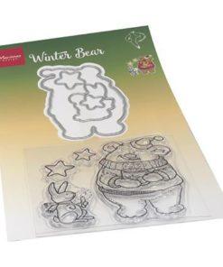 Stempel / Winter bear / Marianne Design