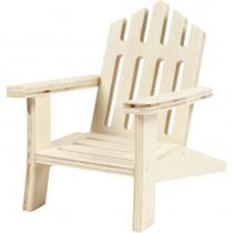Stol, 9 cm, B: 7,5 cm, 1 stk