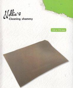 Cleaning shammy / Rengøring af stempler