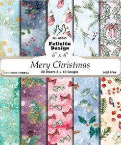 Karton / Merry Christmas / Felicita Design