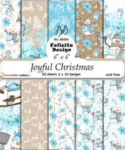 Karton / Joyful Christmas / Felicita Design