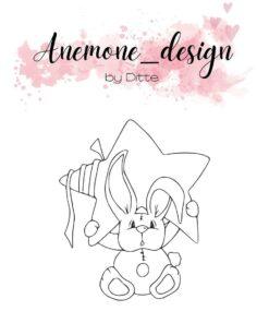 Stempel / Star rabbit / Anemone Design