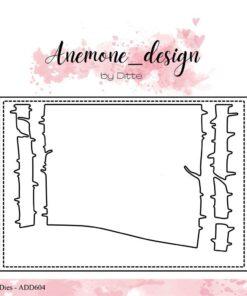 Dies / Birch landscape / Anemone Design