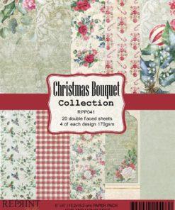 Karton 15x15 cm / Christmas / Reprint