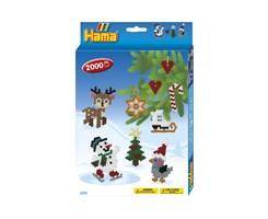 Hama midi ophængsæske med jul