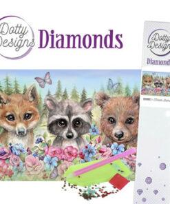 Diamant sæt / Skovens dyr / Dotty Design