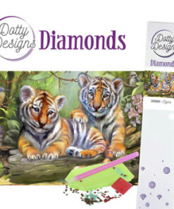 Diamant sæt / Tigre / Dotty Design