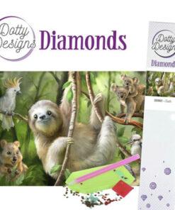 Diamant sæt / Dovendyr / Dotty Design
