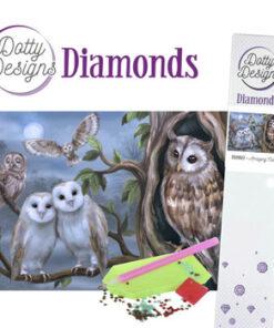 Diamant sæt / Ugler / Dotty Design
