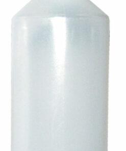Flaske plast 80 ml, inkl tud & låg