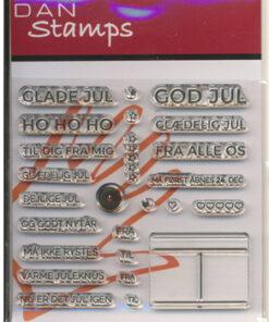Stempel / Glade jul / Dan Stamps