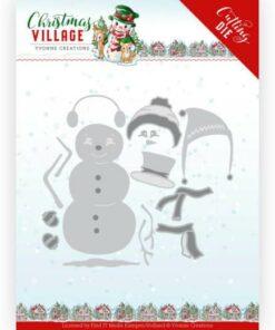 Dies / Build a snowman / Yvonne Design