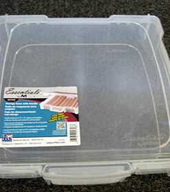 Artbin æske plast / 30,5 x 30,5 cm