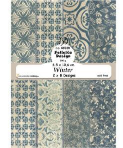 Karton A6 / Winter / Felicita Design