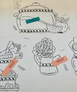Uro / Køkken redskaber / Lap på lap