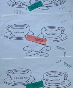 Uro / Kaffekopper / Lap på lap