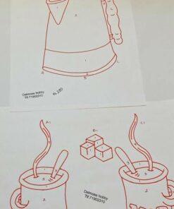 Uro / Kaffestel / Lap på lap