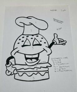 Lækker burger / Lap på lap