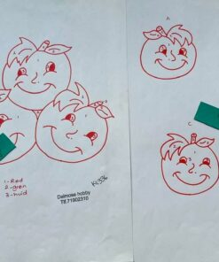 Uro / Æbler / lap på lap