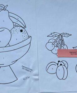 Uro / Frugtskål / Lap på lap