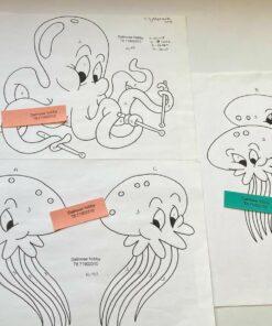 Uro / Blæksprutter / Lap på lap