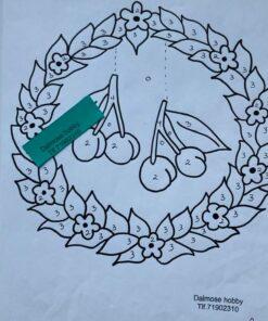 Kirsebær krans / Lap på lap