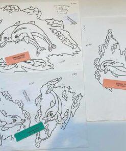 Uro / Delfiner / lap på lap
