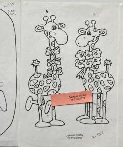 Uro / Giraffer / Lap på lap