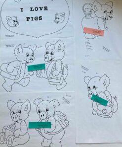 Uro / I love pigs / Lap på lap