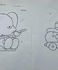 Uro / Bambou / lap på lap