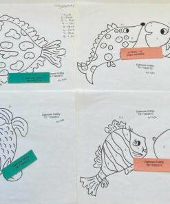 Uro / Fantasi fisk / Lap på lap