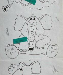 Uro / Elefantpå sky / Lap på lap