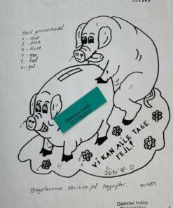 Frække grise / Lap på lap