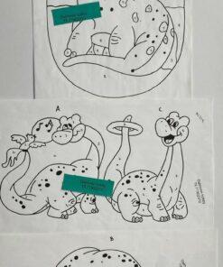 Uro / Dino / Lap på lap