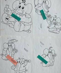 Uro / Elefanter / Lap på lap