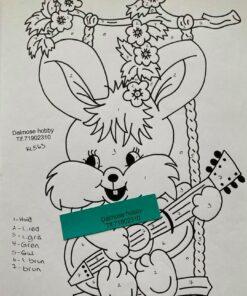 Hare på gynge / Lap på lap