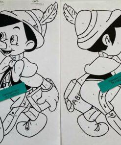 Pinocchio for & bag / Lap på lap