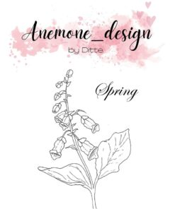 Stempel / Flowers-spring / Anemone Design