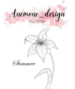 Stempel / Flowers-summer / Anemone Design