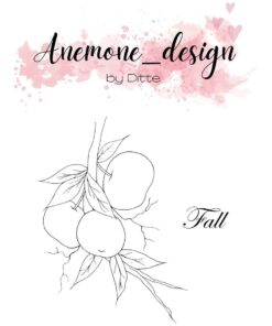 Stempel / Flowers-fall / Anemone Design