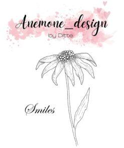 Stempel / Flowers-smiles / Anemone Design
