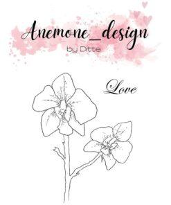 Stempel / Flowers-love / Anemone Design